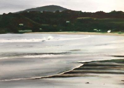 Playa de Miño en invierno