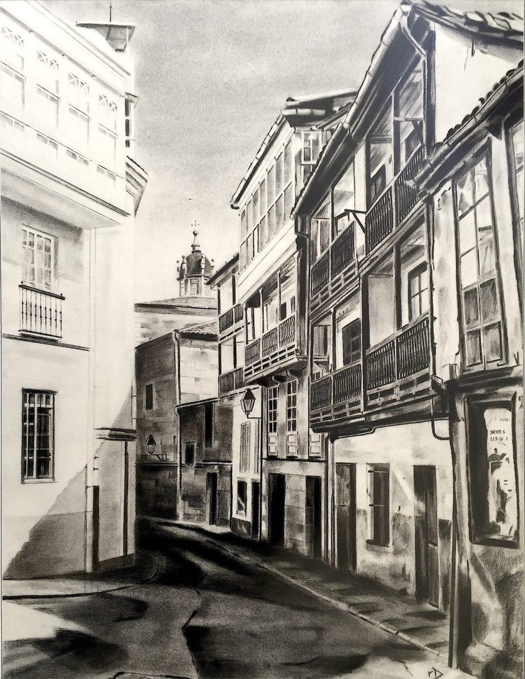 Rúa Castro de Unta (Betanzos)