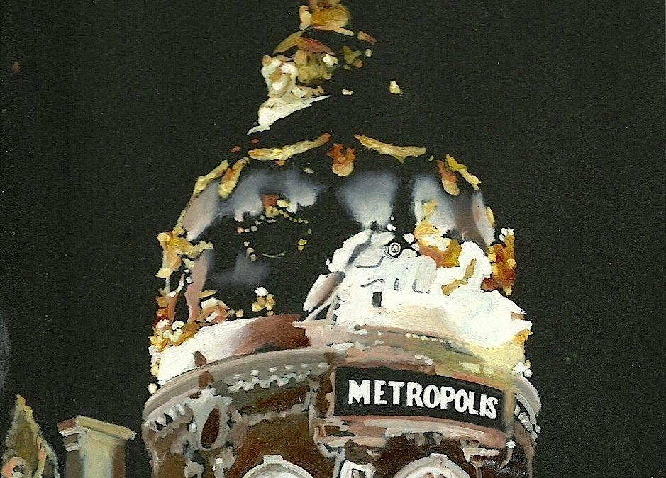Metrópolis de noche (Madrid)