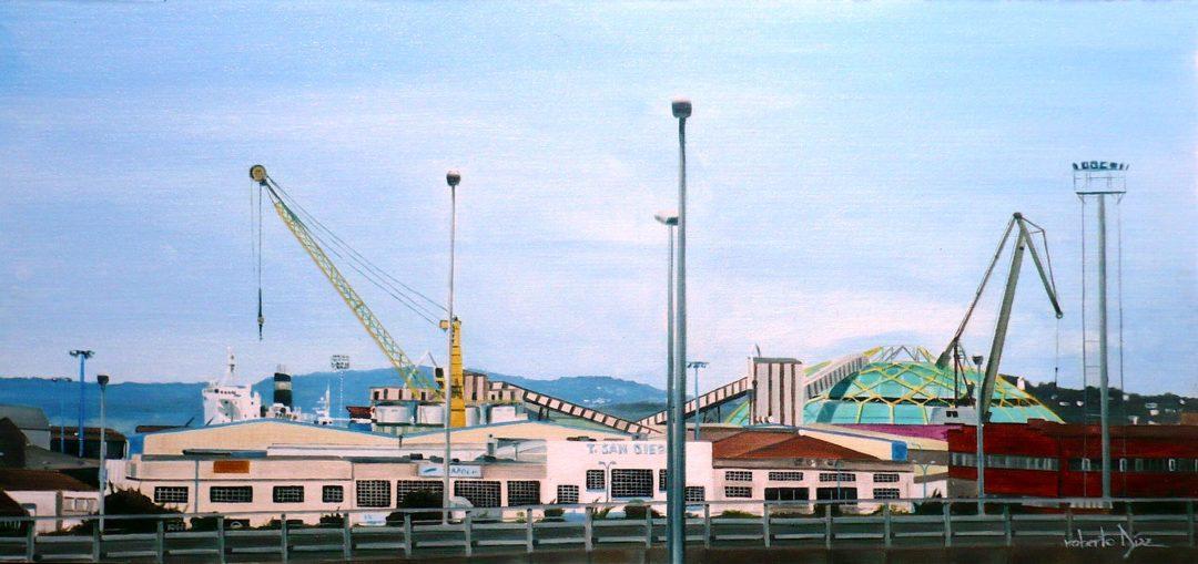 Grúas de San Diego (A Coruña)