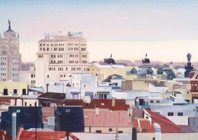 Amanece Madrid en Octubre