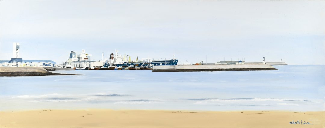 Barcos en San Diego (A Coruña)