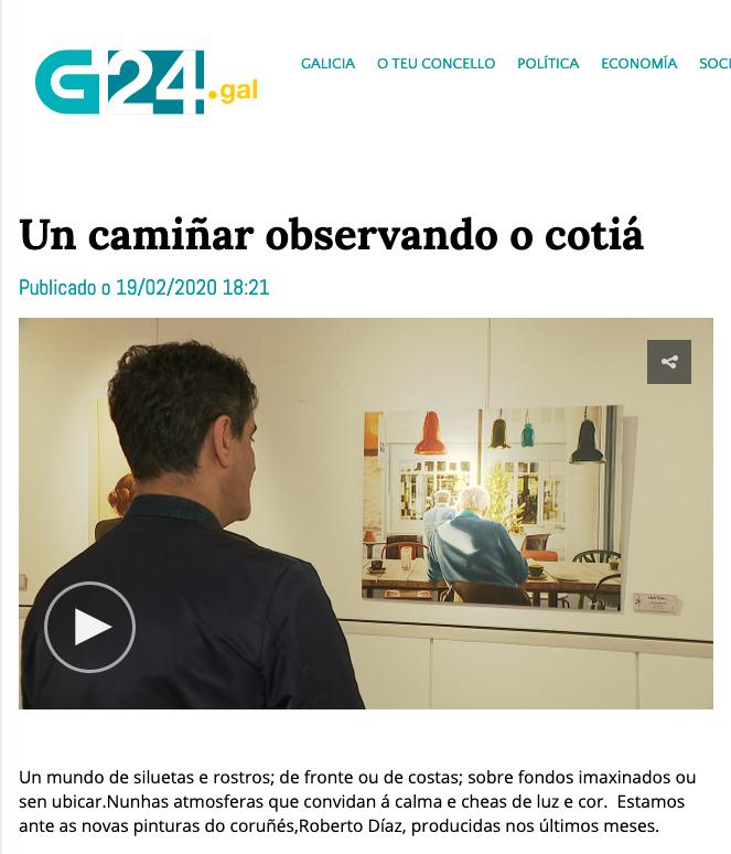 """Reportaje de """"Autoficción!"""" en la TVG"""